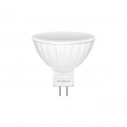 Лампа GLOBAL MR16 5W 3000K 220V GU5.3