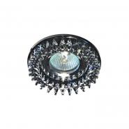 Светильник точечный Feron CD2540  прозрачный серый /черный