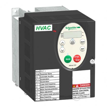 Преобразователь частоты ATV212HU15N4 1,5 кВт 480В - 1