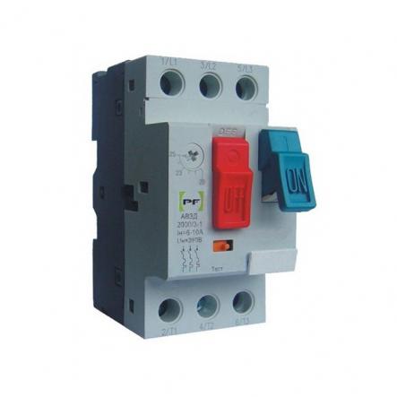 Автоматический выключатель защиты двигателя АВЗД2000/3-1 D6.3 400-У3 (4-6,3А) Промфактор - 1