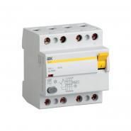Устройство защитного отключения УЗО IEK ВД1-63 4p 40A/30мА тип А ИЕК