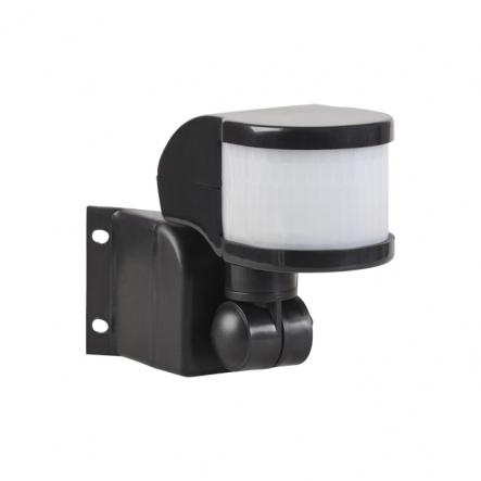Датчик движения IEK ДД 018 черный 1100 Вт радиус 270град.,12м IP44 арт. LDD10-018B-1100-002 - 1