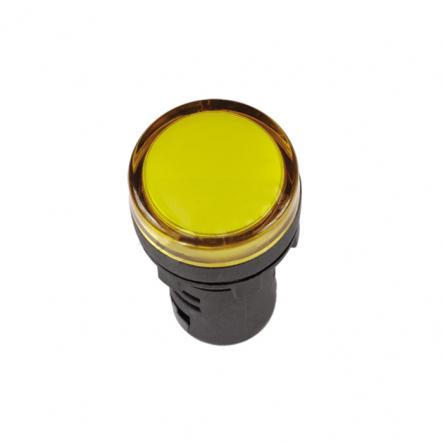 Сигнальная арматура матричная АСМ22/220АС жёлтая IP65 - 1