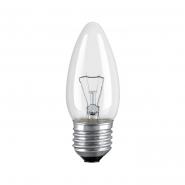 Лампа OSRAM CLAS B CL 60 Вт 230В E27 прозрачная свеча