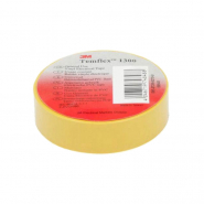 Изолента Temflex 1500 Лента 19mm x 20m желтый 3M