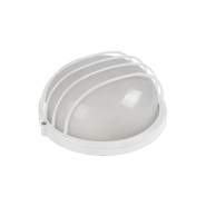 СветильникНПП 1106 белый-круг 100 Вт. IP54 с решеткой