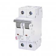 Автоматический выключатель ETI 6 1p+N С 25А (6 kA) 2142518