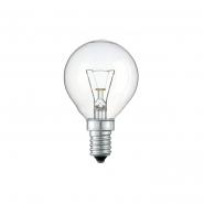 Лампа шар 60D1/CL/E14 230V прозрачная GE