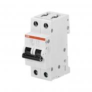 Автоматический выключатель ABB S202 C20 2п 20А