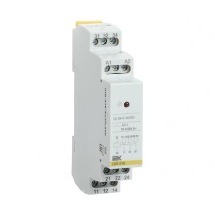 Промежуточное реле IEK OIR 3 конт (16А). 24 В AC / DC OIR-316-ACDC24V - 1