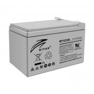 Аккумуляторная батарея AGM RITAR RT12120.Gray Case.12V 12,0Ah (151x98x95(101))) Q4