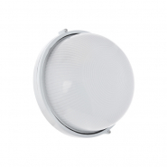 Светильник влагостойкий MIF 010 100W круг білий без решітки