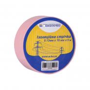 Изолента 0,13мм*19мм 5м розовая ACKO