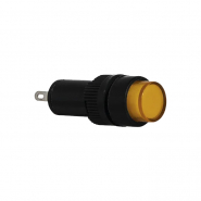Сигнальна арматура AD22E-12DS жёлтая 24V АC/DC