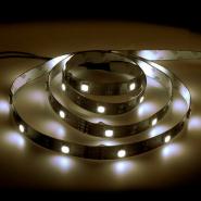Лента светодиодная Feron LS606/LED-RL 60SMD(5050)/m 14,4W/m 12V 5m*8*0.22mm белый на белом основании