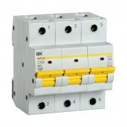 Автоматический выключатель IEK ВА47-150 3p 100A С 15кА