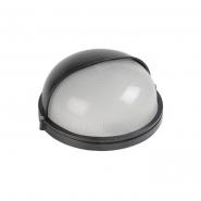 Светильник НПП 1103 черный-круг полусфера 100Вт IP54