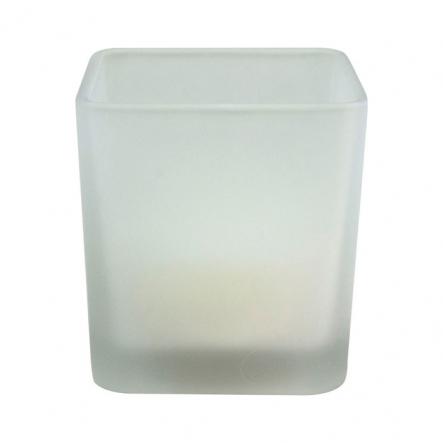 Ночник FERON Свеча стеклянный подсвечник квадрат 2LED-янтарный - 1