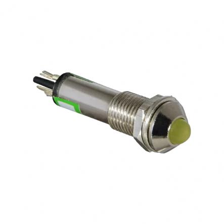 Сигнальная арматура АСКО-УКРЕМ AD22B-8 24В AC/DC Желтая - 1