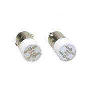 Лампа сменная  желтая матрица 24B IEK