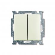 Выкл. 2кл Basic 55 белый шале ABB