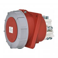 Розетка встраиваемая  EEH-12553  IP67 (125A, 400V, 3P+N+PE) ETIMAT