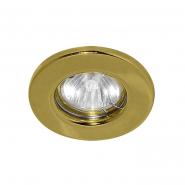 Светильник точечный  золото MR-16