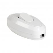 Выключатель одноклавишный разборный для бра, ВБ-01Б белый IEK