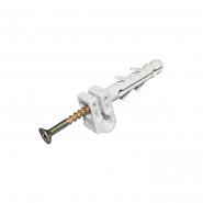 Обойма для плоского кабеля Д.8-5мм/100шт/серый