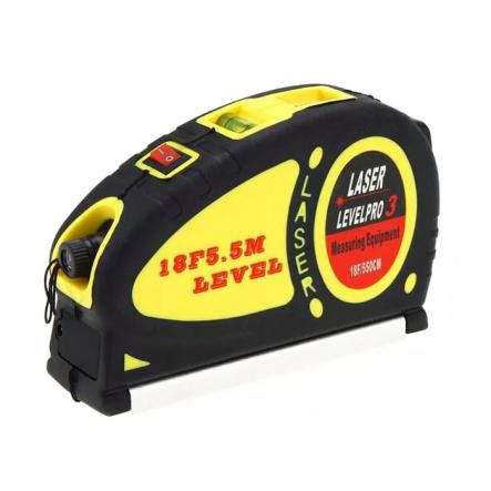 Уровень лазерный LV-05 +рулеткаОПЛАТА ТОЛЬКО ПО ТЕРМИНАЛУ!!!! - 1