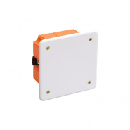 Коробка монтажная установочная для полых стен d92х92х45мм
