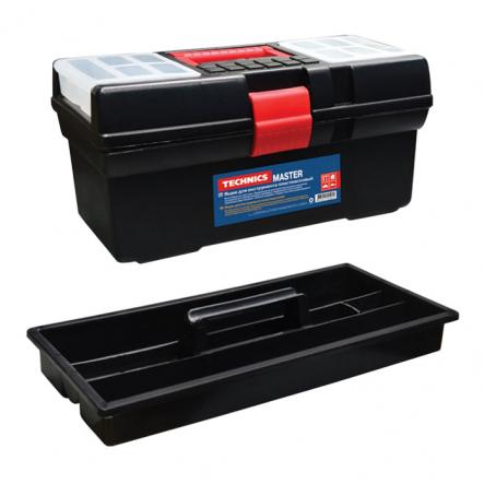Ящик для инструменментив пластмассовый 12 Master 310х160х130мм - 1