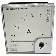 Амперметр ЭА 0302  0-300А (80х80) Украина