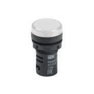 Светосигнальный индикатор IEK AD22DS (LED) матрица d22мм белый 12В AC/DC
