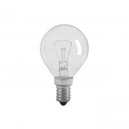 Лампа накаливания декоративная Б 230-40-5 Е14 искра ДШ