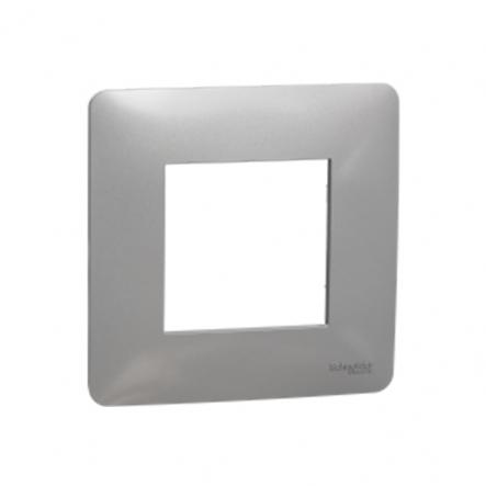 Рамка однопостовая Schneider Electric NU200230 (алюминий) - 1