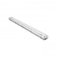 Свет-к DELUX_PC7 LED_(2*1200мм) IP65_G13 без ламп 1267*110*50mm