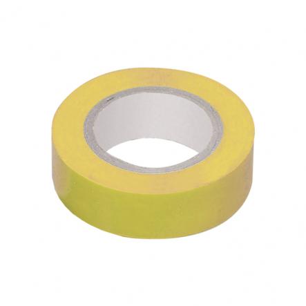 Изолента 0,13х15 мм желтая 10 метров IEK - 1