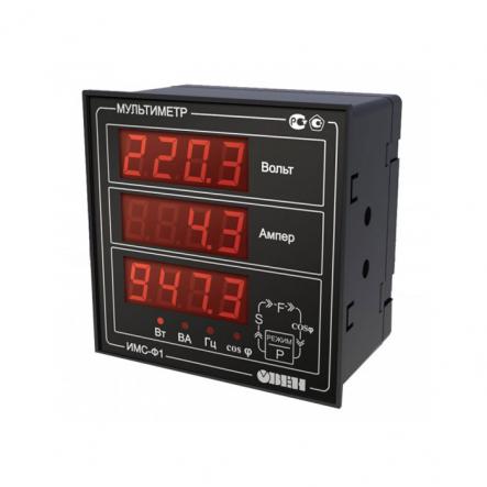 Измеритель параметров электрической сети ОВЕН ИМС-Ф1.Щ1 - 1