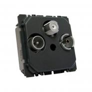 Розетка TV+R+SAT 950-2400 Mгц Celiane