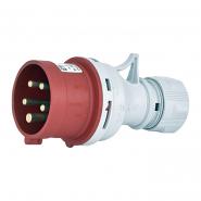 Вилка кабельная 16А 3P+N+PE EV-1653  ETIMAT
