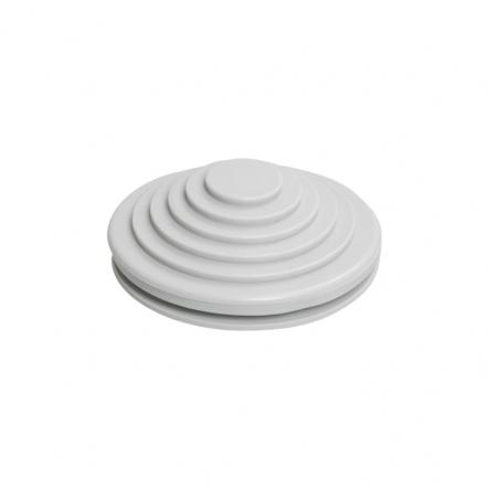 Сальник резиновый d=25mm (Dотв.бокса 27mm) серый ИЕК - 1