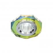 Светильник точечный Feron MR-16 G5.3 5-мультиколор серебро