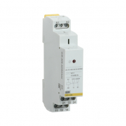 Промежуточное реле IEK OIR 2 конт (8А). 24 В AC / DC  Интерфейсное на Дин рейку OIR-208-ACDC24V