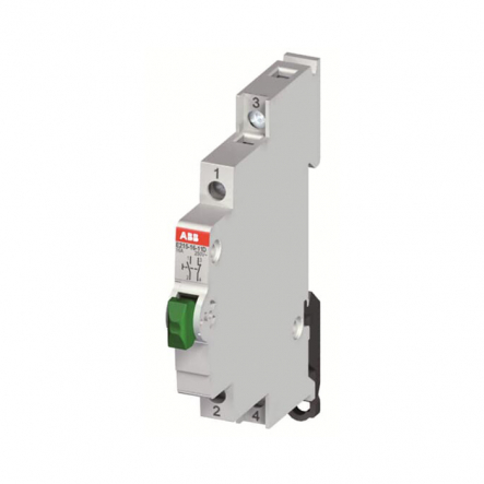 Выключатель кнопочный E215-16-11G ABB - 1