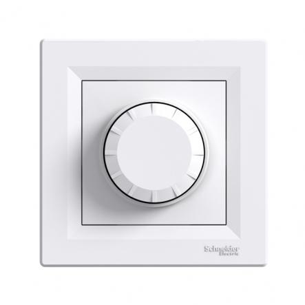 Светорегулятор поворотный белый ASFORA - 1