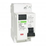 Автоматический выключатель защитного выключения Промфактор АЗВ 1п+н С40/0,03
