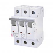 Автоматический выключатель ETI 6 3p C 13А (6 kA) 2145515
