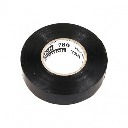 Скотч - Scotch 780 19мм х20м черный 3М - 1
