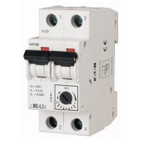 Автоматический выключатель защиты двигателя Z-MS 6.3/2 (4-6,3А) 2 полюса MOELLER - 1